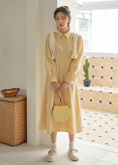 Fiora pintuck shirt Dress