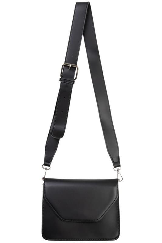 Vivid letter square shoulder bag