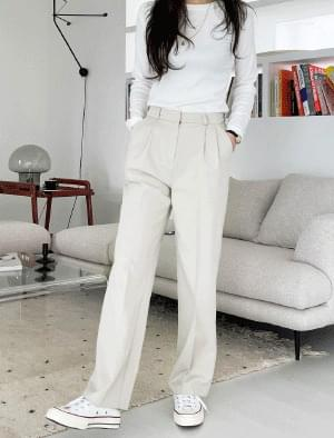 Allure Two Pin Tuck Wide Slacks