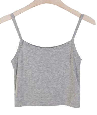 1+1♥ Crop Sleeveless T