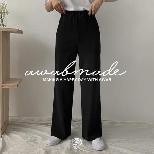 Item by height ♥ Soft wide banding slacks (2size/4type: up to ver140cm~ver.170cm)