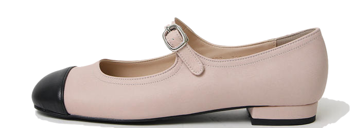 High End Mary Jane Flat Shoes 1cm
