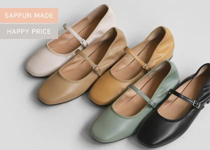 Charlotte Mary Jane flat shoes