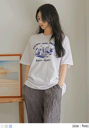 Graphic Loose T-Shirt