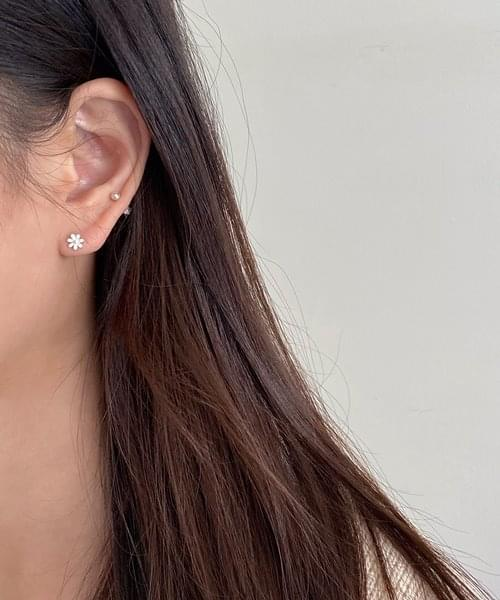 (silver925) sweet color earring