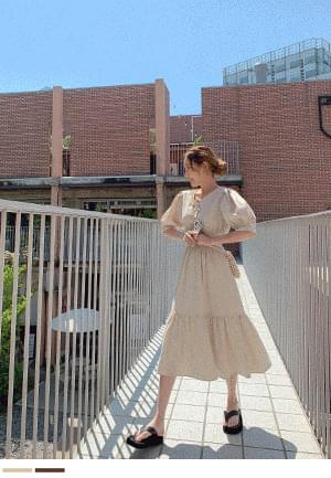 Summer Happiness Linen Long Dress
