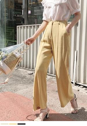 I always want to wear linen pants