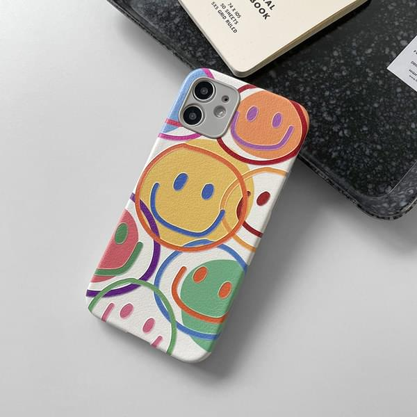MoMA Smile Pattern Full Cover iPhone Case