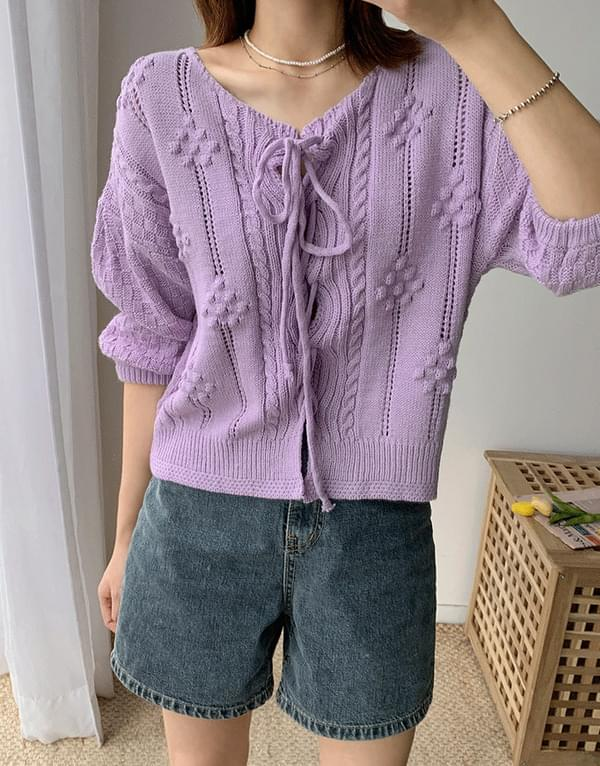 Lovely Half Cardigan Knitwear