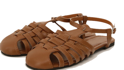 Ankle Strap Caged Sandals