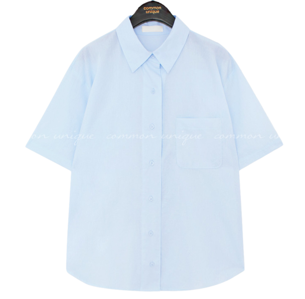 Buttoned Front and Back Shirt