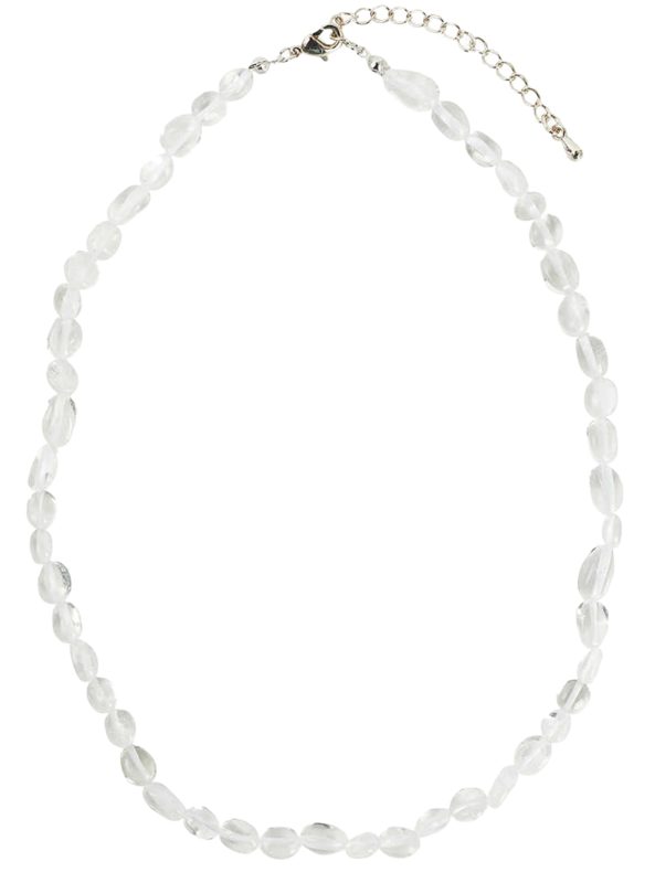 Sand clear necklace