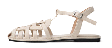Isshu Glady twist flat sandals 10965 ♡12th sold out♡