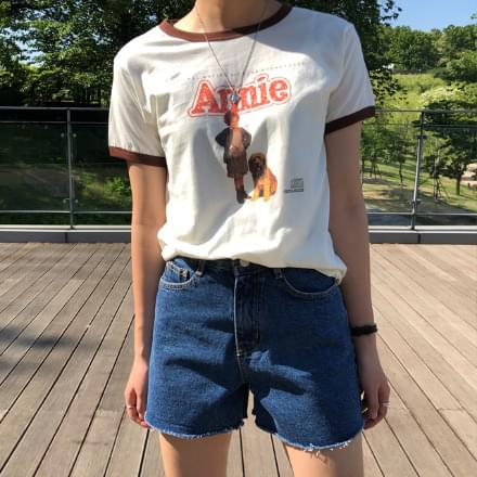 anime color matching short sleeve t