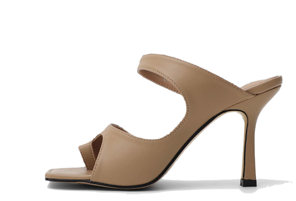 Unique toe post mule high heel sandal 5356 ♡2nd sold out♡