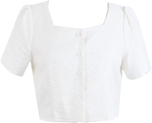 #made some haz square cropped linen blouse