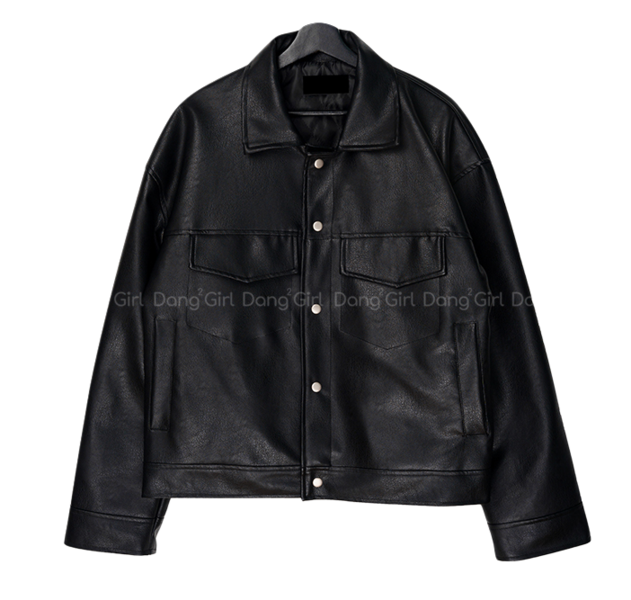 Big 55-99 Andrew Quilting Leather Jacket