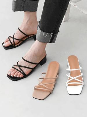 2way strap slingback mules sandals 9147 ♡3rd sold out♡