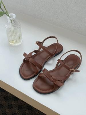 Cookie Ribbon Sandals