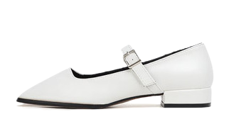 Isshu square toe Mary Jane loafers 9055 ♡ 1st sold out♡