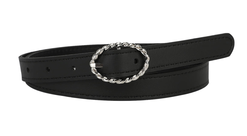 Twisted ring point belt