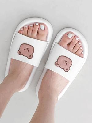 Soft teddy bear slippers 11026 ♡1st sold out♡