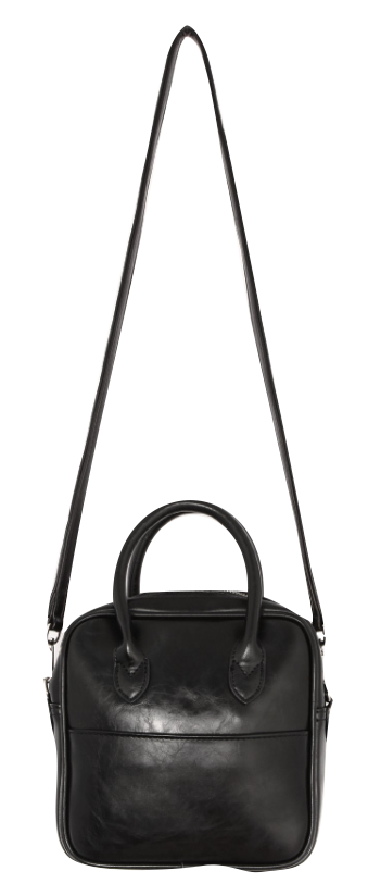 Leatherette Two-Way Bag