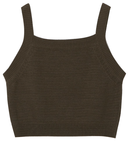 Lamber Square Sleeveless Knitwear - 3 color