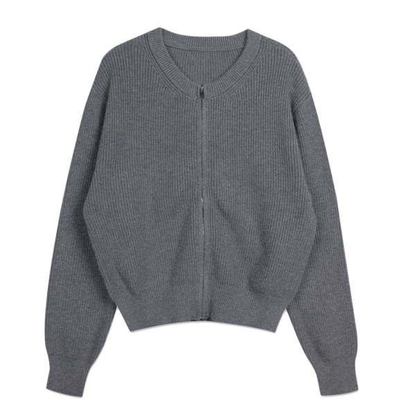 #Special product cash rayon zip-up cardigan