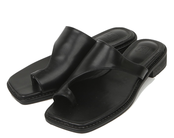 unfooted strap shoes
