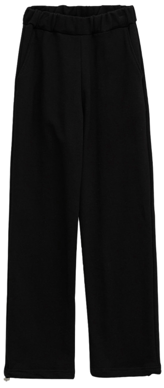 and two-way jogger sweatpants