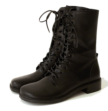 Lace-Up Front Walker Boots
