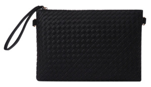 Mesh detail clutch (5color)