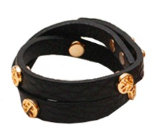 leather bracelet (3color)
