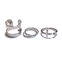 Mod chic 3sets ring (2color)