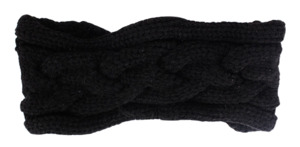 Twist knit hair-band