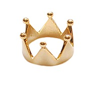 Crown ring / crown ring / crown ring / queen ring / fashion ring / tiara ring / bonded ring