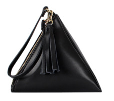 Triangle tassel bag (2color)
