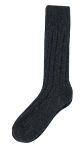 Minimal wool socks