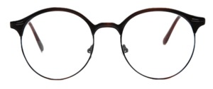 top round glasses (3 colors)