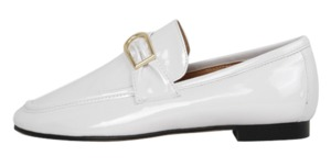 Enamel simple buckle loafer (4color)
