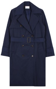 Basic trench long coat