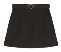 Heart club 16SSHeart Belt Skirt Pants(Black)