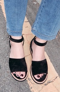 French strap-sandals