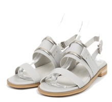 manish square detail sandal (3 colors)