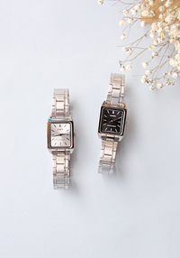 [ACC] CASIO SQUARE 2 COLOR WATCH