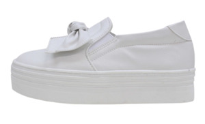 Georgette Toggle Slip On