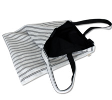 Stripe Cross Bag