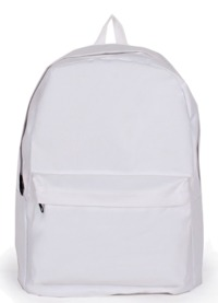 Plain backpack