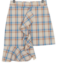 Made_bottom-079_check wing skirt (size : S,M)
